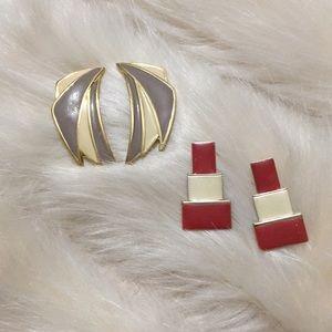 ✨ Set of vintage earrings